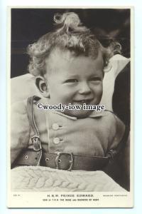 r1062 - Young Prince Edward son of Duke & Duchess of Kent - postcard