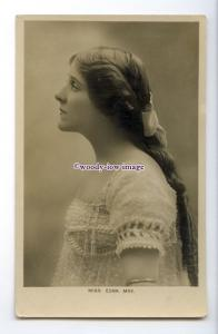 b5827 - Stage Actress - Edna May with her Hair down, by Lallie Charles- postcard