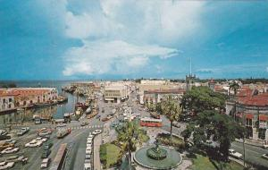 View of Trafalgar Square and Downtown of Bridgetown, Barbados, West Indies,40...