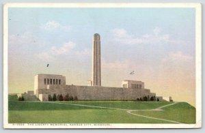 Kansas City MO~Detroit Publishing #H-3566~Liberty Memorial~Fred Harvey 1909