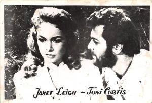 B55182 janet Leigh and Toni Lurtis Couple Acteurs Actors 9x7cm