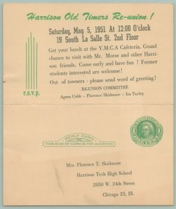 Chicago~1951 Harrison Tech HS Old Timers Reunion~Skidmore~Morse~Cobb~Turley~YMCA