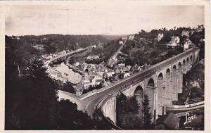 RP, Le Viaduct Et Vue Generale Sur La Coulee De La Rance, Dinan, France, PU-1952