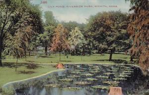 Lily Pond Riverside Park Wichita Kansas 1913