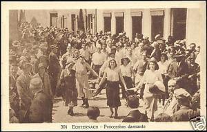 luxemburg, ECHTERNACH, Procession Dansante (1930s)