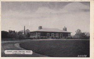 Sunset Park Shelter House, Knightstown, Indiana, PU-1944