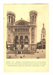 Facade De La Basilique, Lyon (Rhone) France, 1900-1910s