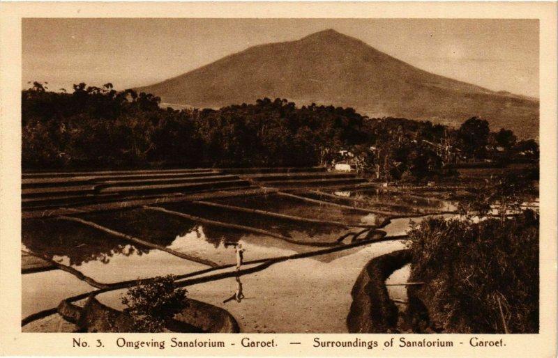 CPA AK INDONESIA Omgeving Sanatorium-Garoet (342194)