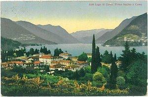 CARTOLINA d'Epoca - COMO : VEDUTA LAGO 1926