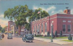 Post Office Main Street Leominster Massachusetts1941