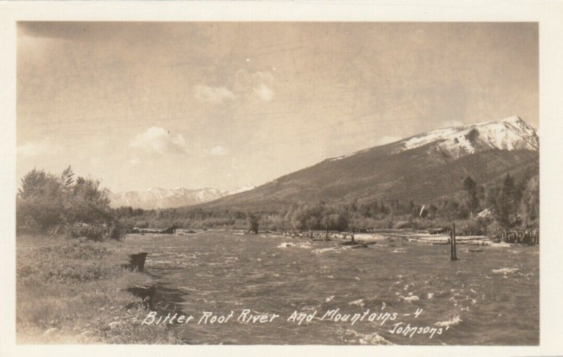 RP; Montana , Bitter Route River & Mountains
