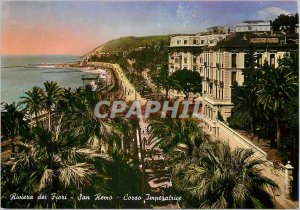 Postcard Modern San Remo Cordo Imperatrice