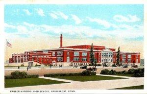 Connecticut Bridgeport Warren Harding High School Curteich