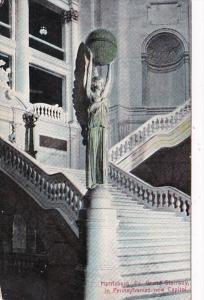 Pennsylvania Harrisburg Grand Staircase In New Capitol Building