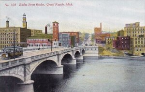 Bridge Street Bridge Grand Rapids Michigan