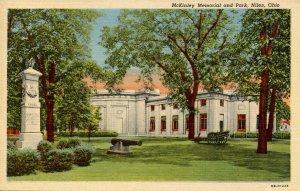 President McKinley Memorial at Niles, Ohio