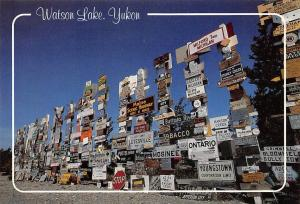 Canada Yukon Watson Lake Sign Posts
