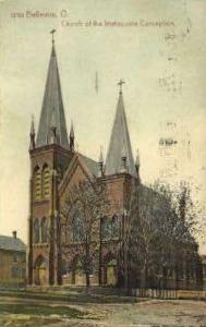 Church of Immaculate Conception Bellevue OH 1911