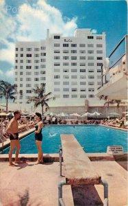 FL, Miami Beach, Florida, The Monte Carlo Hotel, Pool, National Litho