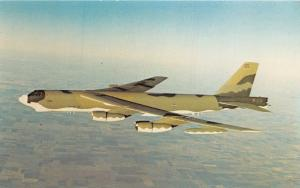 BOEING MILITARY AIRPLANE COMP B-52H BOMBER WITH OAS SYSTEM WICHITA KS POSTCARD