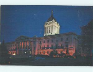 Unused Pre-1980 TOWN VIEW SCENE Winnipeg Manitoba MB p8823