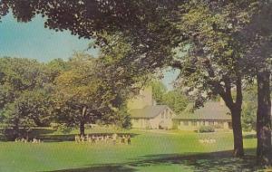 The Campus Wilson College Chambersburg Pennsylvania 1964