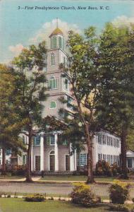 First Prebyterian Church, New Bern, North Carolina, 30-40s