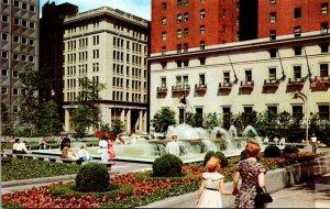 Pennsylvania Pittsburgh Mellon Square
