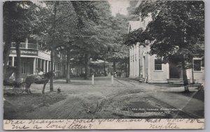 Chautauqua, N.Y., Clark Ave. Toward the Amphitheatre - 1906