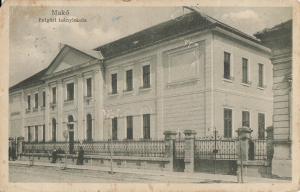 Poland Mako Makowa Macau  schoo early postcard