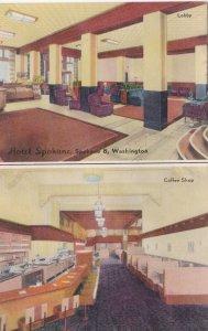 Washington Spokane Hotel Spokane Lobby & Coffee Shop sk2622
