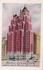 New York City Hotel Lexington 1959