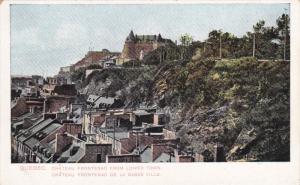 QUEBEC, Canada, 1900-1910's; Chateau Frontenac De La Basse Ville