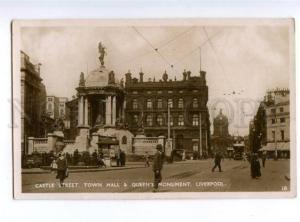 155729 UK England LIVERPOOL Castle street Vintage photo PC