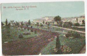 Entrance State Fair Grounds Syracuse NY 1911