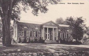 Connecticut New Canaan The Library Albertype