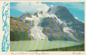 Canada Mount Robson and Berg Glacier Jasper National Park Alberta