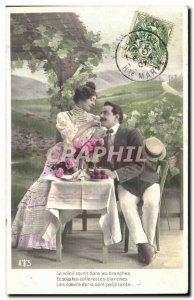 Fantasy - Couple - The sun smiles in the branches and in the white collars - ...