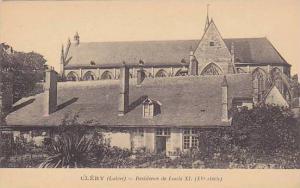 Residence De Louis XI (XV Siecle), Clery (Loiret), France, 1900-1910s