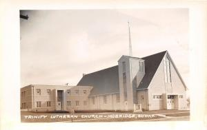 Mobridge South Dakota~Trinity Lutheran Church~1950s Postcard RPPC