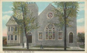 CAMBRIDGE , Maryland, 1910s ; St Paul's M.P. Church
