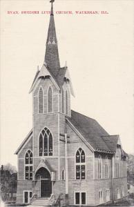 WAUKEGAN, Illinois, 1900-1910's; Evan, Swedish Luth. Church