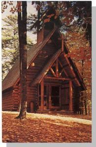 Grayling, Michigan/MI Postcard, Chapel In The Pines