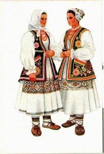 CPA AK Costume national croate: Croatie CROATIA (597834)