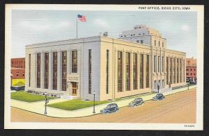 Post Office Sioux City Iowa Unused c1935
