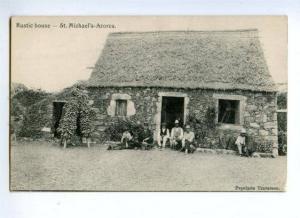 144756 PORTUGAL Azores ACORES S.Michael Rustic house Vintage