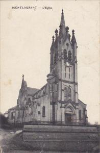 France Montlaurent L'Eglise 1910