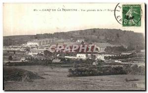 Old Postcard Camp De La Courtine General View of the 1st Army Brigade