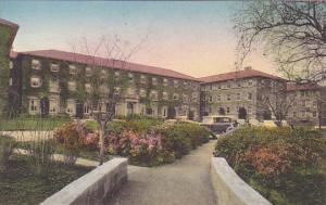 Robie Hall University Stanford California Handcolored Albertype
