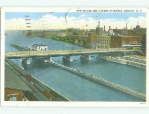 W-Border BRIDGE SCENE Oswego New York NY HJ1246